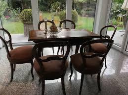 tisch und 6 stühle louis philippe esszimmer eur 350 00