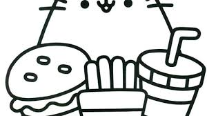 Kawaii Coloring Pages With Cat