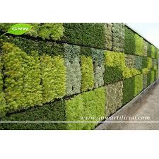 GNW GLW027 Living Wall Planter Vertical Garden Arificial green