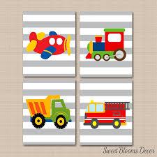 100 Fire Truck Wall Art Amazoncom Transportation DcorTransportation Nursery