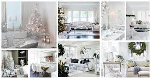 100 Pure Home Designs White Interior Decorated In The Christmas Spirit