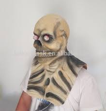 Scary Halloween Half Masks by 2017 Style Scary Monster Mask Latex Horror Halloween Ghost