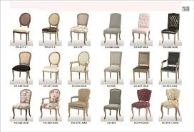 Stylish Different Types Of Furniture Styles Dining Room Chair Awesome