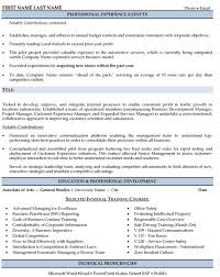 Regional Sales Manager Resume Sample Template Page 2
