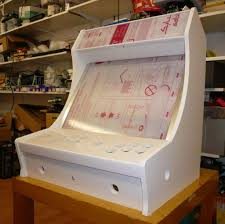 Arcade Cabinet Plans 32 Lcd by Bartop Mame Cabinet Google Search Retro Arcade Pinterest