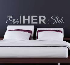 seine und ihre seite wandtattoo schlafzimmer