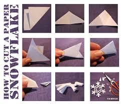 Snowflake Making 1