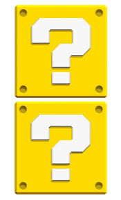 7 question mark box template prints on legal size paper cut out