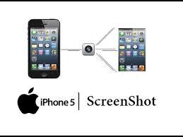 iPhone 5 How to take a Screenshot Save a Screen Shot Apple