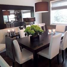 Modern Centerpieces For Dining Room Table by Best 25 Dark Wood Dining Table Ideas On Pinterest Dinning