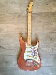 Stevie Ray Vaughn Lenny Tribute Stratocaster Natural