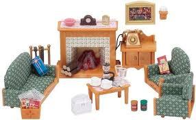 sylvanian families luxus wohnzimmer ohne batterie 1xaa