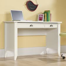 Sauder Shoal Creek Desk Jamocha Wood by Sauder Shoal Creek Computer Desk White Hayneedle