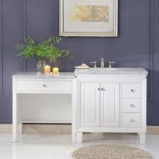 Double Sink Vanity With Dressing Table by Kitchenlav Double Bathroom Vanity Single Bathroom Vanity