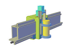 100 Axis Design Concept Supported Rail Z Axis Design