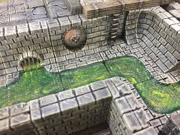 3d Printed Dungeon Tiles by Rampage 3d Printable Scenery Building System Indiegogo