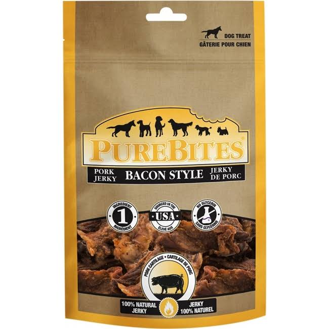 Pure Bites Bacon Jerky for Dogs - 23.8oz