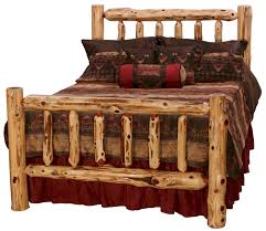 Southern Red Cedar Log Bed