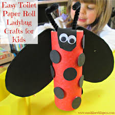 Easy Toilet Paper Roll Ladybug Crafts For Kids 2