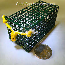 Decorative Lobster Traps Large by Lobster Trap Fishing Ebay