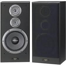 Pioneer CS 7070 Bookshelf speaker Black 190 W 35 up to Hz 1