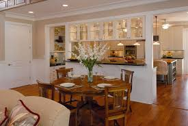 Harmonious Open Kitchen To Dining Room by Combined Kitchen And Living Room Interior Design Ideas