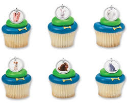 The Secret Life of Pets Dog Tags Cupcakes