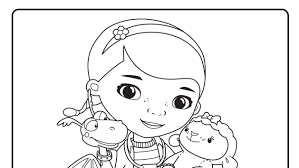Coloring For Kids Disney Jr Pages Doc Mcstuffins Dzrleather