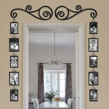 Stylish Scroll and Picture Door Frame