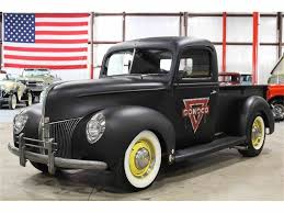 1940 Ford Pickup For Sale | ClassicCars.com | CC-923920 1937 Ford Pickup 88192 Motors 1940 Tow Truck Of George Poteet By Fastlane Rod Shop Acurazine V8 Pickup In Gray Roadtripdog On Gateway Classic Cars 1066tpa A Different Point Of View Hot Network The Long Haul Fueled Rides Fuel Curve F100 For Sale Classiccarscom Cc0386 Used Real Steel Body 350 Auto Ac Pb Ps Venice Sale Near Lenexa Kansas 66219 Classics Second Time Around