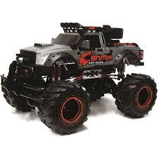 100 Rc Truck 4x4 New Bright RC 4X4 18 Scale Brutus Gunmetal Walmartcom