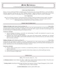 Resume Samples For Child Caregiver Combined With Chic Ideas Care Examples Fresh