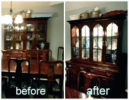 White Dining Hutch Antique Room Buffet Best Of