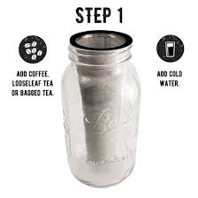 Cold Brew Coffee Maker Mason Jar Kit