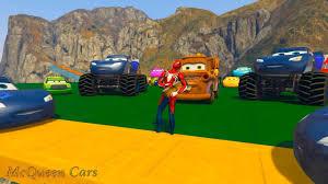 28.18 MB) Race Cars 3 Daytona Lightning McQueen Crash Jackson Storm ...