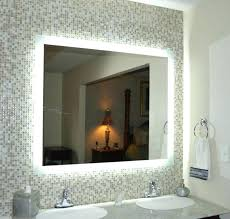 lighted wall mount vanity mirror wall mounted bathroom mirror with