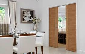 Space Saving Pocket Doors Ever Wanted Sliding Between Kitchen And Dining