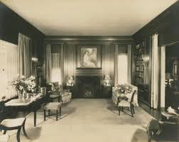 100 Oaks Residence Library Interior The James A Baker Residence