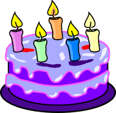 Purple slice cake art clipart