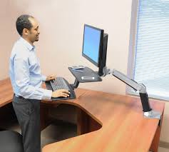 Ergotron Sit Stand Desk by Office Area Sources Emmerson And Fifteenth Best Home Furniture