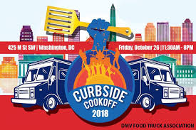 100 Dc Food Truck Association DC Tasting Festival Curbside Cookoff 2018 The List Are