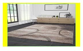 wohnzimmer teppich modern sehr dicht gewebt kreisel muster