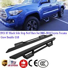 Great For 2005-2018 Toyota Tacoma Double Crew Cab Side Step Nerf ... Close Up Of Side Step Stair Pickup Truck Stock Photo Picture And 19992016 F250 F350 Amp Research Bedstep2 Box Sidestep 7540301a Amazoncom 7541301a Black Access Automatic Electric Steps For Volkswagen Vw Amarok Pegasus 4x4 0208 Dodge Ram Regular Cab 4 Curved Nerf Bar Buy Gm Accsories 22889279 Side In With Bully Bbs1103 Alinum 4pcs Automotive Tac Oval For 092018 1500 Quad Running Go Rhino Universalstep 120b Free Shipping On Orders Step 072018 Chevy Silveradogmc Sierra 072019 2500