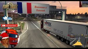 100 Euro Truck Sim Mods 2436 MB Ulator 2 133 MAl INovace Map V12 By