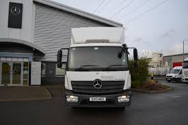 Used Mercedes ATEGO 816 Box Taillift Box Van For Sale In Derby ...