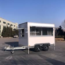 100 Concession Truck Hot Sale Mobile Ice Cream Catering Van Coffee Cart