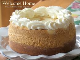 Libbys Pumpkin Pie Cheesecake by Welcome Home Blog Pumpkin Swirl Cheesecake