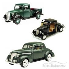 Best Of 1930s Diecast Cars - Set 10 - Set Of Three 1/24 Scale ...