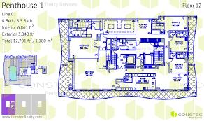 Chateau Floor Plans Fendi Chateau Residences Complete Floor Plans