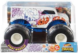 100 Monster Jam Toy Truck Videos Hot Wheels S Milk 124 DieCast Car Mattel S